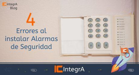 4 errores al instalar alarmas de seguridad cursos integra