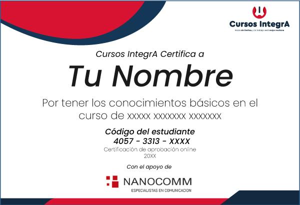 Comercial-Nanocomm-Certificado-Cursos-IntegrA